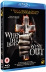 When the Lights Went Out - Blu-ray