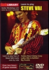 Lick Library: Learn to Play Steve Vai - DVD