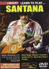 Lick Library: Learn to Play Santana - DVD