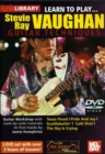 Lick Library: Learn to Play Stevie Ray Vaughan - DVD