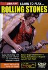 Learn to Play Rolling Stones - DVD