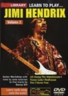 Lick library: Learn to play Jimi Hnedrix vol 2 - DVD