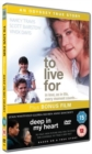 To Live For/Deep in My Heart - DVD