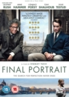 Final Portrait - DVD