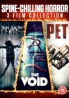 Spine Chilling Horror: 3 Film Collection - DVD