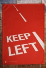 KEEP LEFT TEA TOWEL - Book