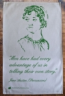 JANE AUSTEN TEA TOWEL - Book