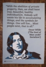 OSCAR WILDE TEA TOWEL - Book