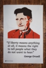 GEORGE ORWELL TEA TOWEL - Book