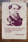 Charles Dickens Tea Towel - Book