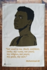 MUHAMMAD ALI TEA TOWEL - Book