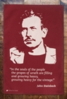 John Steinbeck Tea Towel - Book