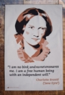 CHARLOTTE BRONT JANE EYRE TEA TOWEL - Book