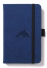 Dingbats A6 Pocket Wildlife Blue Whale Notebook - Plain - Book