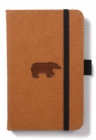 Dingbats A6 Pocket Wildlife Brown Bear Notebook - Plain - Book