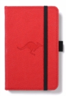Dingbats A6 Pocket Wildlife Red Kangaroo Notebook - Dotted - Book