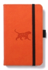 Dingbats A6 Pocket Wildlife Orange Tiger Notebook - Dotted - Book