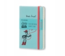 Moleskine Toy Story Limited Edition Light Blue Pocket Ruled Notebook - Book