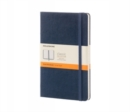 Moleskine Sapphire Blue Large Ruled Notebook Hard - Book