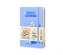 Moleskine Alice In Wonderland Limited Edition Blue Hard Plain Pocket Notebook - Book