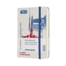 Moleskine 12 Month Star Wars Limited Edition Pocket Daily Planner 2020 - X-Wing - Book