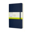 Moleskine Expanded Large Plain Softcover Notebook : Sapphire Blue - Book