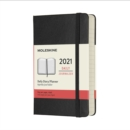 Moleskine 2021 12-Month Daily Pocket Hardcover Diary : Black - Book