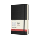 Moleskine 2021 12-Month Daily Large Hardcover Diary : Black - Book