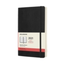 Moleskine 2021 12-Month Daily Large Softcover Diary : Black - Book