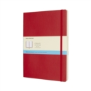 Moleskine Scarlet Red Extra Large Dotted Notebook Soft - Book
