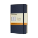 Moleskine Sapphire Blue Pocket Ruled Notebook Soft - Book