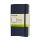 Moleskine Sapphire Blue Pocket Plain Notebook Soft - Book