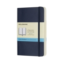Moleskine Sapphire Blue Pocket Dotted Notebook Soft - Book