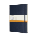 Moleskine Sapphire Blue Extra Large Ruled Notebook Hard - Book