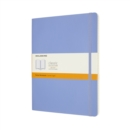 Moleskine Extra Large Ruled Softcover Notebook : Hydrangea Blue - Book