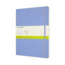 Moleskine Extra Large Plain Softcover Notebook : Hydrangea Blue - Book