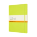 Moleskine Extra Large Ruled Softcover Notebook : Lemon Green - Book