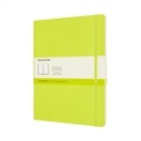 Moleskine Extra Large Plain Softcover Notebook : Lemon Green - Book