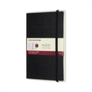 Moleskine Smart Writing Paper Tablet Black Large Ruled Hard - Book