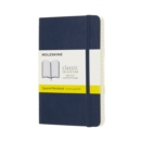 Moleskine Sapphire Blue Notebook Pocket Squared Soft - Book