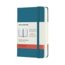 Moleskine 12-Month Daily Planner 2020 - Magnetic Green - Book