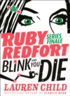 Blink and You Die - Book
