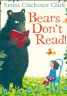 Bears Don't Read! - Book