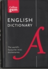English Gem Dictionary : The World's Favourite Mini Dictionaries - Book