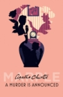 A Murder is Announced - Book