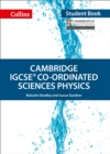Cambridge IGCSE (TM) Co-ordinated Sciences Physics Student's Book - Book