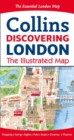 Discovering London Illustrated Map - Book
