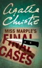 Miss Marple's Final Cases - Book