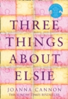 THREE THINGS ABOUT ELSIE PB - Book