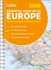 2020 Collins Essential Road Atlas Europe - Book